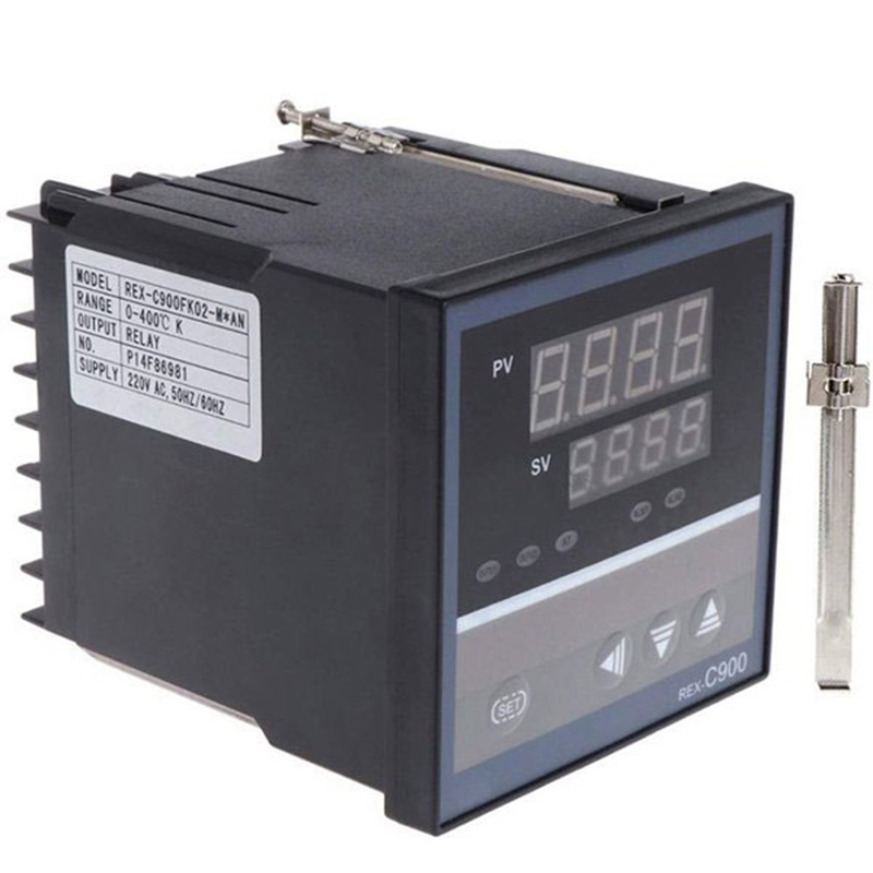 <font><b>PID</b></font> Temperature Controller <font><b>REX</b></font>-<font><b>C900</b></font> Universal Input Multi-Input SSR Relay Output 96x96mm Thermostat Regular image