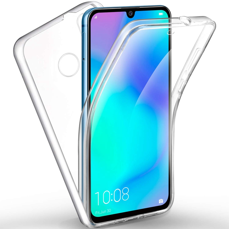 360 degree Soft Clear Case for Redmi 7A 7 NOTE 7 Drop-Proof Full Body Protection TPU Transparent Cover