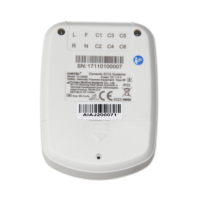 Dynamic TLC6000 48hour 12 Channel ECG/EKG Holter Monitor Alalyzer Recorde CONTEC Manufacture CE FDA 6