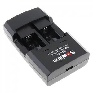Image 3 - Умное зарядное устройство Soshine с 2 слотами для литий ионных батарей RCR123 / RCR2 Rapid, со светодиодным индикатором для аккумуляторов 14250 CR2 16340 17335 15266