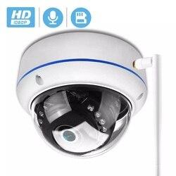 H.265 5MP 1080P HD Антивандальная ip-камера Wifi P2P TF слот для карты CCTV купольная камера беспроводная Проводная аудио записанная камера безопасности