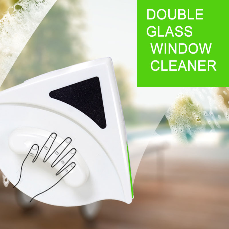 Magnetic Window Cleaner Double Sided Glass Wiper Cleaning Tools for 15-24mm Single Glazed Windows LAD-sale