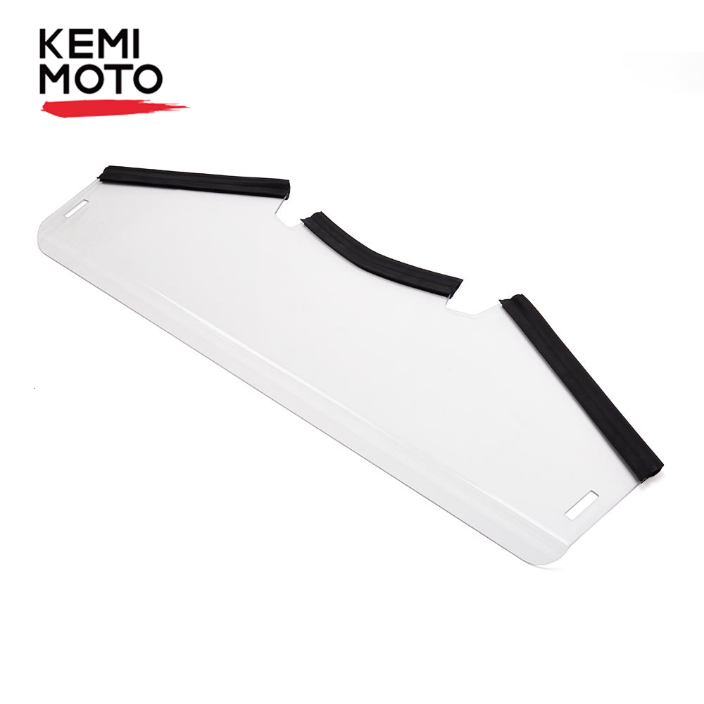 Lower Price KEMIMOTO UTV Half 1/2 Front Windshield Windscreen PMMA For Yamaha YXZ 1000 YXZ1000R Scratch Resistant HWS-Y-YXZ
