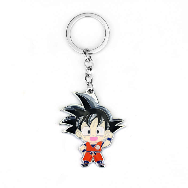 [Mykpop] Dragon Ball Super Saiyan Sleutelhanger Speelgoed Cartoon Figuur Collection Model Dragon Ball Fans Collection SA19122401