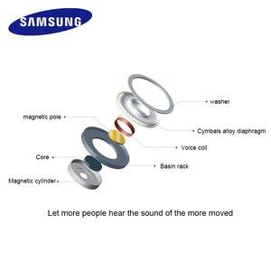 Image 2 - Écouteurs dorigine Samsung EHS64 casques avec Microphone intégré 3.5mm dans loreille écouteurs filaires pour Smartphones avec cadeau gratuit