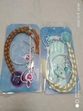 Перчатки в виде короны Анны и принцессы для девочек волшебная