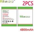 WISECOCO 2 шт. аккумулятор BL210 4800 мАч для Lenovo A536 A606 S820 S820E A750E A770E A656 A766 A658T S650  телефон с номером отслеживания