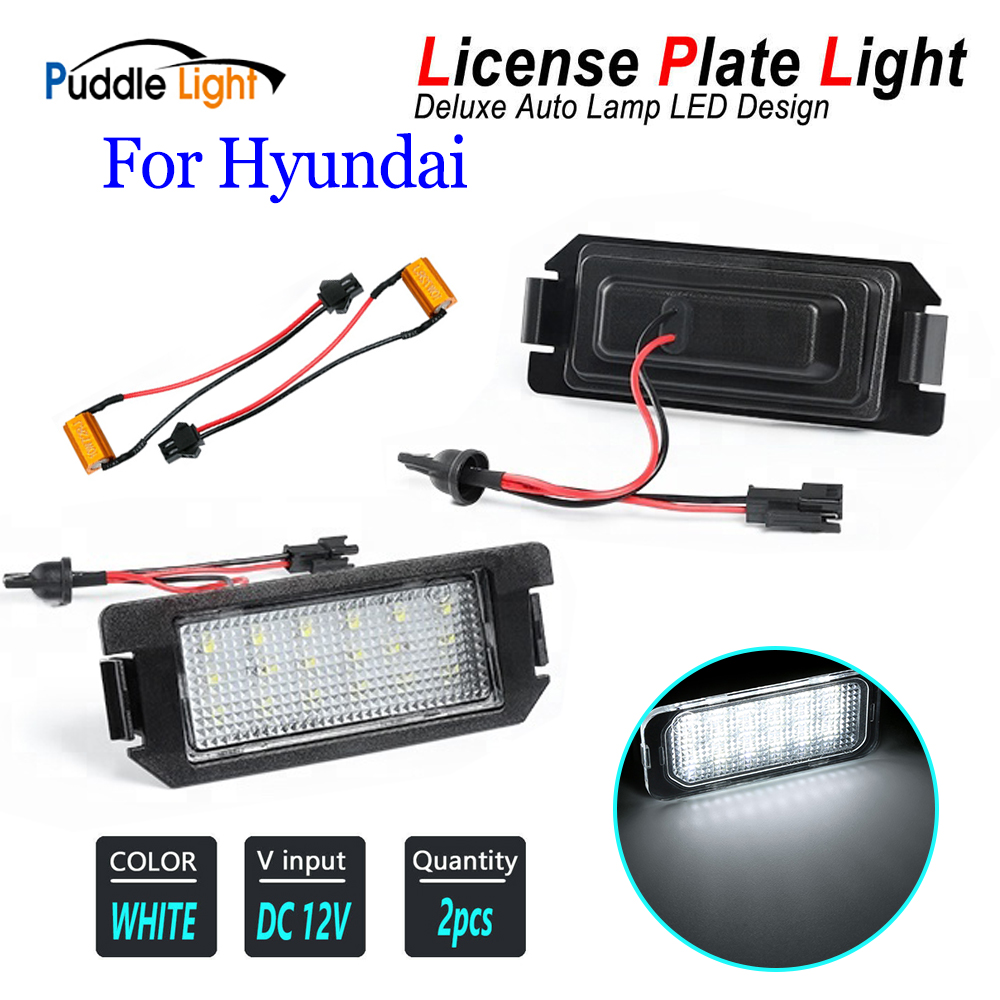Top 9 Most Popular Led License Plate Light For Hyundai Ideas And Get Free Shipping A936