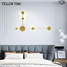 Простой светодиодный настенный светильник для гостиной спальни