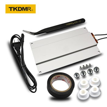 TKDMR LED lamp beads Remover PTC Heating Soldering Chip Remove Welding BGA Solder Ball Station Split Plate Free Shipping new ac 220v aluminum led remover ptc heating plate soldering chip remove weld bga solder ball station split plate