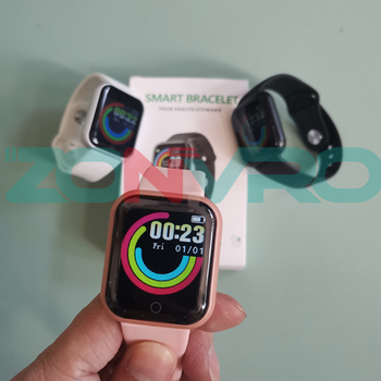 D20 Bluetooth Smart Watches Men Waterproof Sport Fitness Tracker Smart Bracelet Blood Pressure Heart Rate Monitor Y68 Smartwatch 2