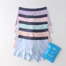 10 unids/lote ropa interior de los hombres-de moda algodón de calidad el Color de la ropa interior