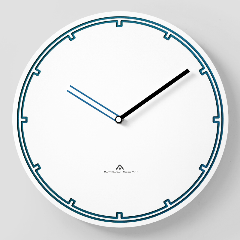 Art Simple Luxury Wall Clock Silent Round White Nordic Wall Clock Living Room Relogio Parede Stylish House Decoration MM60WC