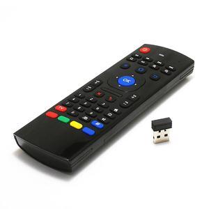 Image 4 - 2.4Ghz airmouse MX3 Air Mouse bezprzewodowa klawiatura + głos dla androida Mini PC TV Box podświetlany pilot zdalnego sterowania
