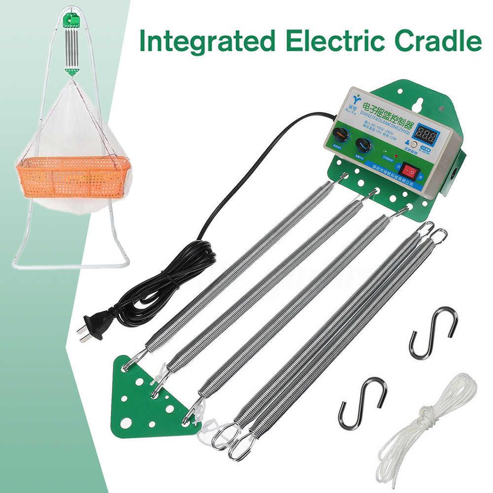 전기 아기 요람 컨트롤러 아기 스윙 아기 로커 컨트롤러 안전 크래들 컨트롤러 드라이버 조절 타이머 150*140*95mm