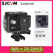 "Sjcam SJ4000 空気 4 18k 30fpsアクションカメラallwinnerチップセット 1080 60FPS wifiスポーツdv 2.0 ""ミニヘルメットカメラ防水スポーツdv"