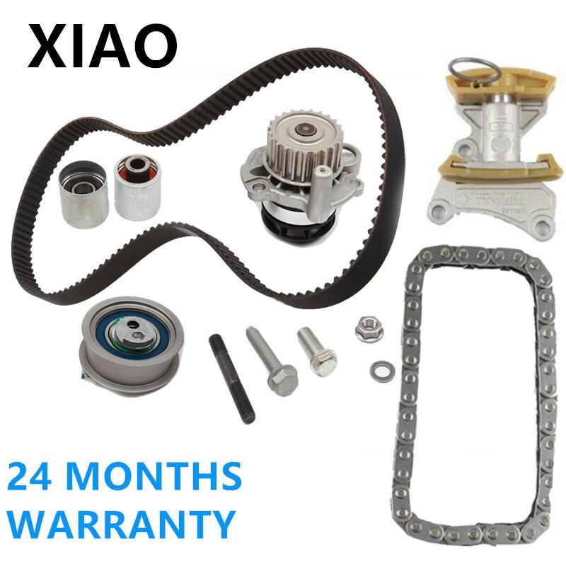 2.0T FSI Timing Belt Kit Metal Water Pump  VW Jetta GLI GTI Audi A3 TT Passat
