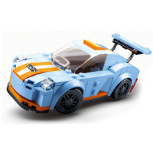 Sluban Compatible legoingly City Speed Champions Super Racers car racing Technic model Kids Toys sets kits child suv off road