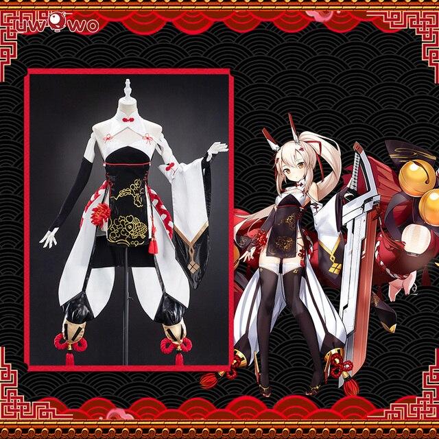 Женский костюм для косплея Uwowo, новый год, Аянами, линь, китайский стиль