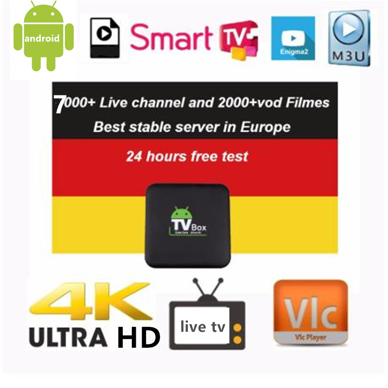 Iptv Tyingon Europe Live IPTV Germany IPTV French IPTV 7000+ Live Free VOD Support Android M3u Enigma2  2000+Vod