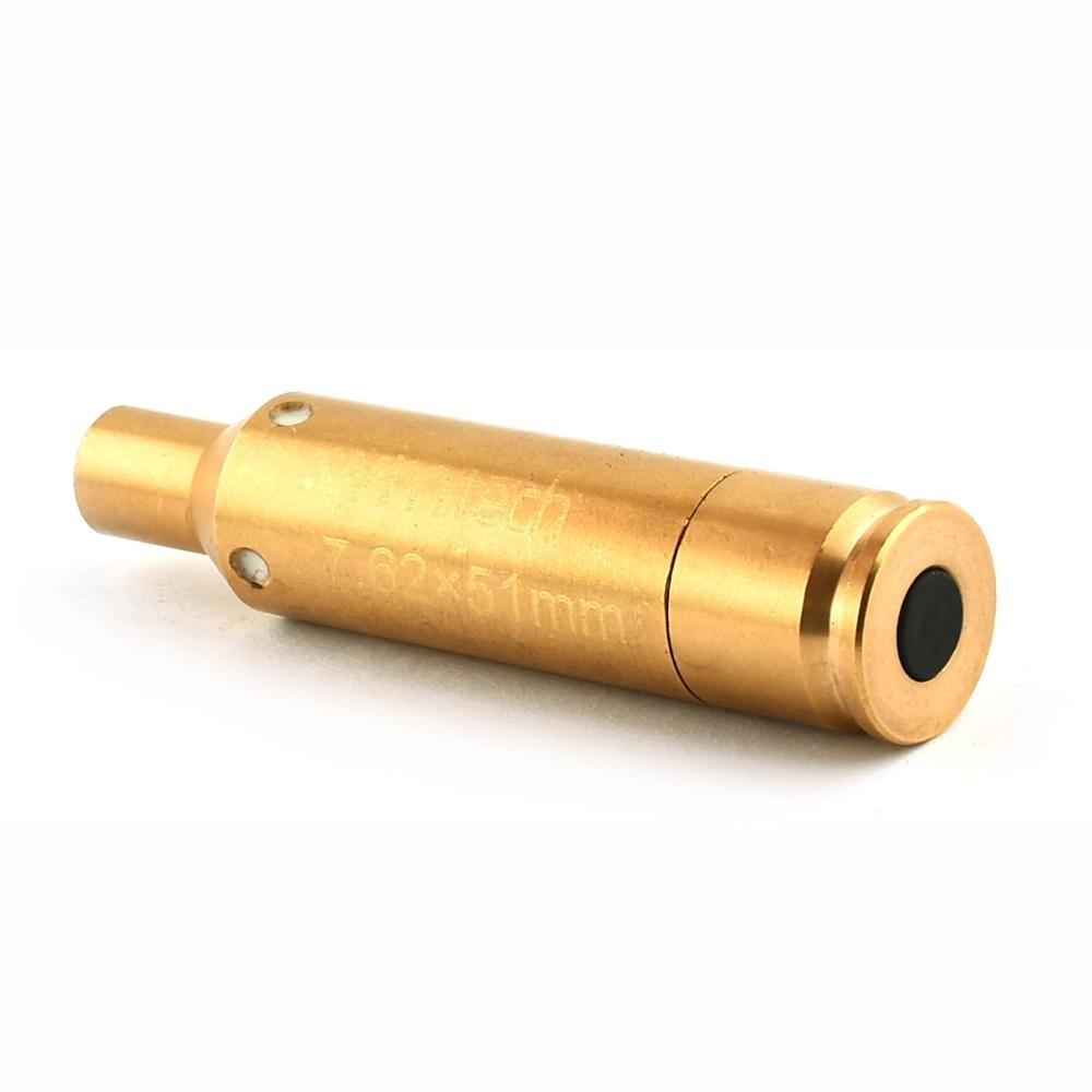 Balle Laser dentraînement avec 5-100 Yards de Distance efficace Mini balle Laser à point rouge pour collimateur de calibre 7.62x51 MM
