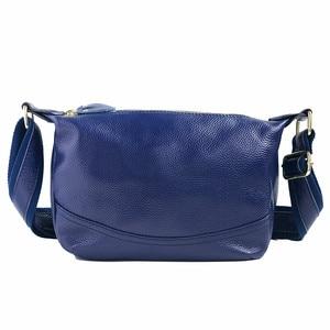 Image 5 - Echtes Leder Tasche Frauen Designer Rosa Schulter Messenger Tasche Kreuz körper Hohe Qualität Weiche Echt Leder Handtasche Frau Taschen