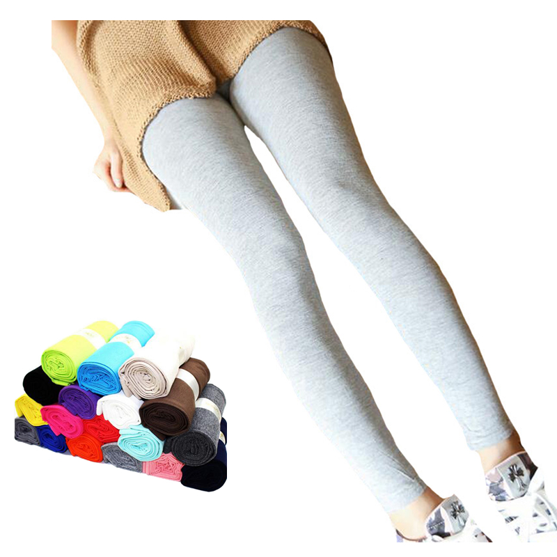 YRRETY Leggins Fashion Autumn Modal Leggings Women Jeggings Thin Candy Color Trousers Casual Legging Breathable New High Quality