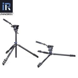 Image 5 - INNOREL MT70 çok fonksiyonlu Video Tripod,Monopod 360 derece CNC alaşım hızlı kapak toka ve sıvı kafa için DSLR kameralar