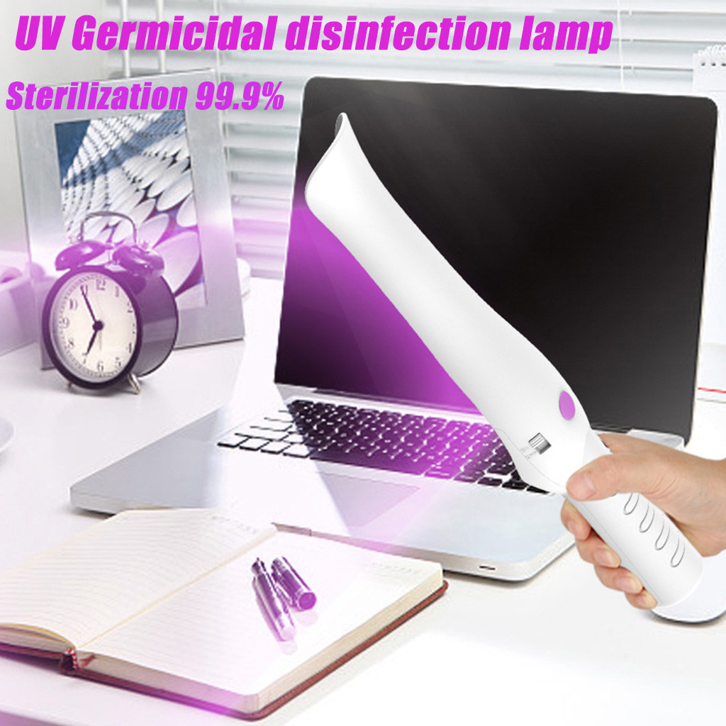 Portable UV Disinfection Lamp USB Household Ultraviolet Lamps High Quality UVC Sterilizing Lights Home Travel Handheld #N