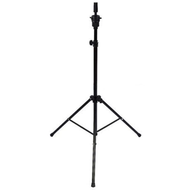 Adjustable Tripod Stand Holder Mannequin Head Tripod Hairdressing Training Head Holder Hair Wig Stand Tool