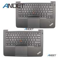 Refurbished for Lenovo ThinkPad S3 S431 S440 Palmrest Cover US Backlit Keyboard Upper Case Touchpad 04X0992 04X0955