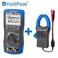HoldPeak HP-770HC True RMS Autoranging Probe цифровой мультиметр с NCV + HP-605A Зажим адаптер 600A AC/DC сила тока LED 45 мм