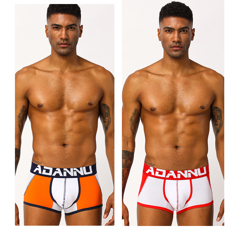 Branded Men Jockstrap Male Cotton Underwear G-strings Breathable Men Briefs Thong Sexy Male Panties Briefs Gay Tanga Underwear