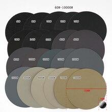 150mm molhado e seco discos de lixamento grit 60-10000 6
