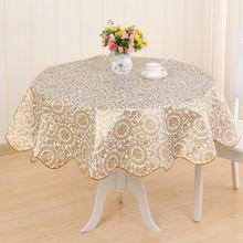 Покрытие стола Водонепроницаемый pvc скатерть украшение для