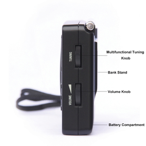 Image 5 - Tecsun PL 606 Digital PLL Portable Elderly/Studendt Radio FM Stereo / LW / SW / MW DSP Receiver Lightweight Rechargeable