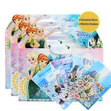 Genuine Disney Frozen Princess DIY Sticker Puzzle Handmade Stickers Children Book Bubble Stickers Pegatinas Autocollant Enfant my perfect princess sticker activity book