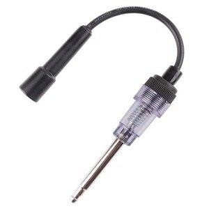 Image 1 - Sistema de ignição do verificador da vela de ignição do carro bobina do motor inline autos ferramenta de teste de diagnóstico em linha igniton spark tester fio teste de faísca