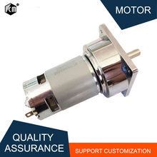 80kg.cm Large Torque 5~500rpm 35W 775 12V DC Gear Motor 24V Mini Electric Machine Reducer For Electric Tools