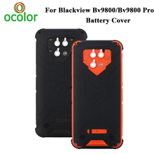 Ocolor para blackview bv9800 bateria capa dura bateria protetora capa traseira para blackview bv9800 pro bateria capa traseira