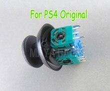 عصا تحكم تناظرية ثلاثية الأبعاد لجهاز Sony PlayStation 4 ، وحدة تحكم DualShock 4 لاسلكية أصلية لوحدة تحكم Sony DualShock 4 ، 10 مجموعة = 20 قطعة