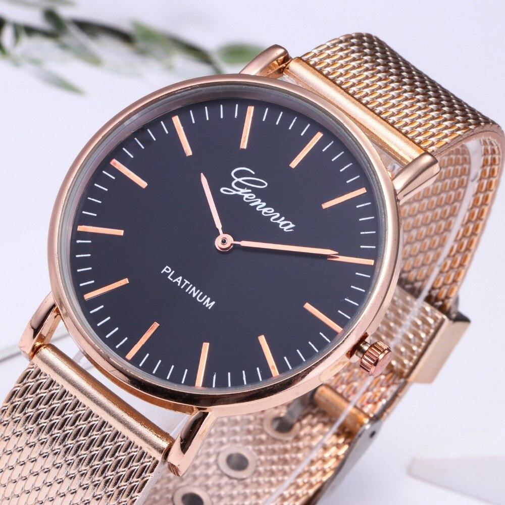 top luxury brand GENEVA Fashion Classic Women Watch Quartz Stainless Steel Wrist Watch Bracelet Watches Women Business relogio feminino reloj best gifts wholesale (12)