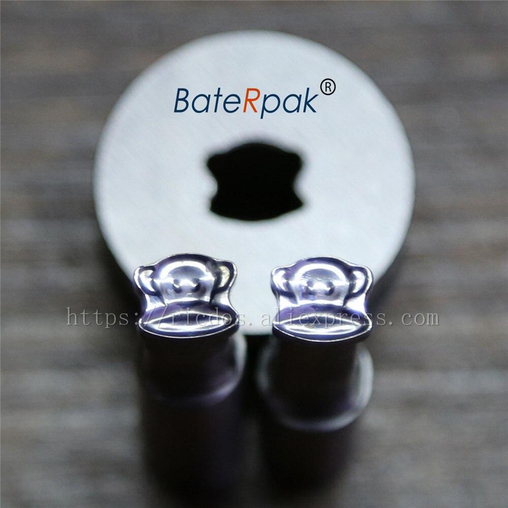Molde da imprensa do perfurador dos doces de baterpak da cara 7.5*8.6mm do macaco, imprensa do comprimido do perfurador do cálcio morre
