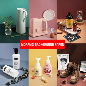 87x57cm Solid Color Backdrop Paper Double-sided Photography Photo Studio Background Paper Decoration Waterproof for Cosmetic