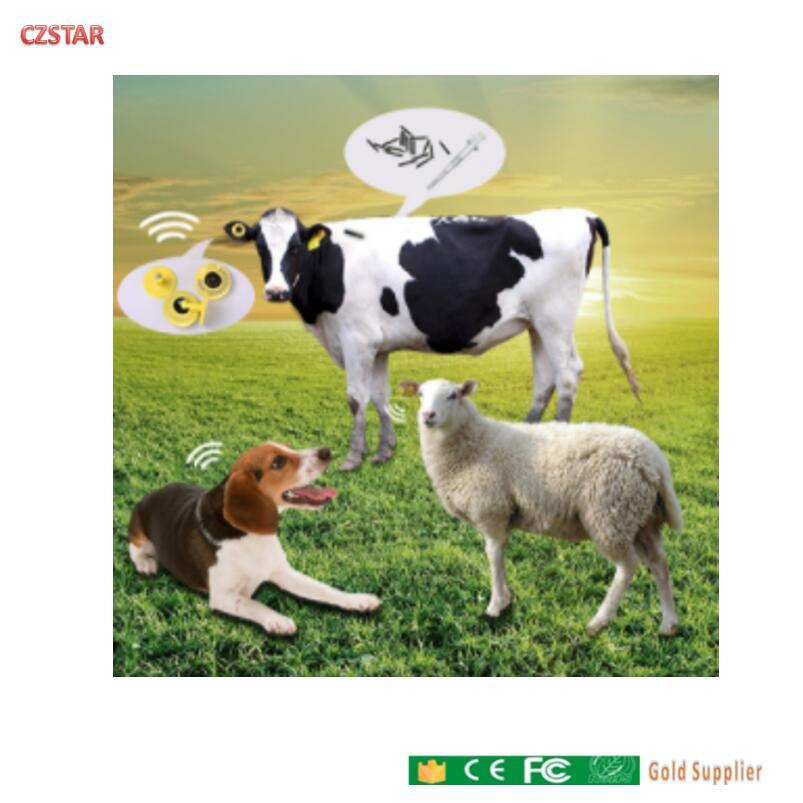 100PCS/lot 134.2khz 11784 11785 Long Range Rf Cattle Id Ear Tag Hdx Pet Rfid Chips Rfid Animal Chip Dier