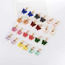 2020 новые женские серьги Модные циркониевые бабочки для женщин
