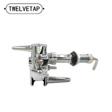 TWELVETAP Beer Tap Defoaming Defoamers for Bottling Home Brewing Beer Keg Remove Foam Growler Filler Bar Club Equipment