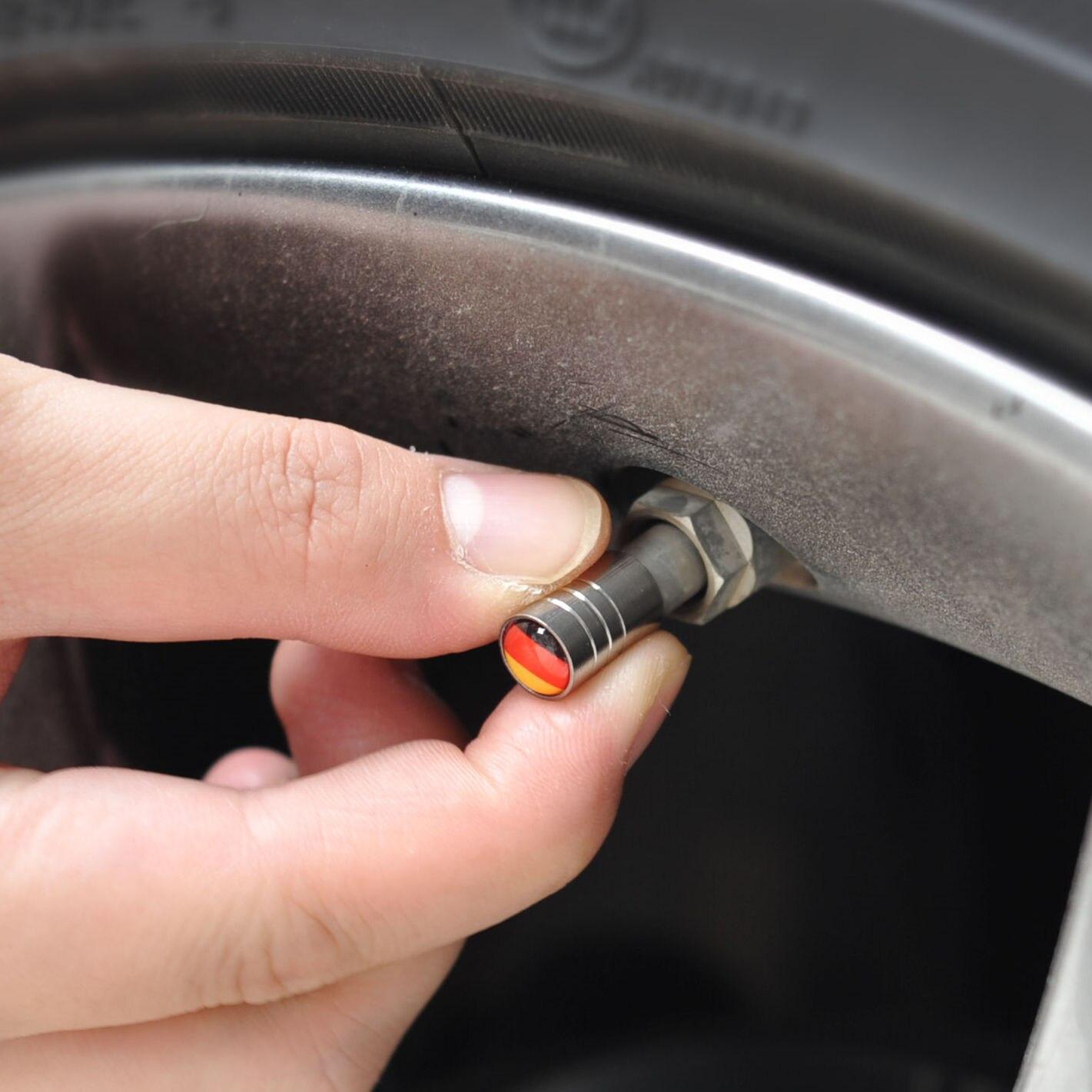 4pcs Wheel Tire Valve Caps Stem case for Kia Rio K2 K3 K5 K4 K9 K900 KX3 KX5 KX7 Cerato Soul Forte Sportage