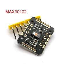MH ET LIVE MAX30102 Heart Rate Sensor Module Puls Detection Blood Oxygen Concentration Test For Uno Ultra Low Power