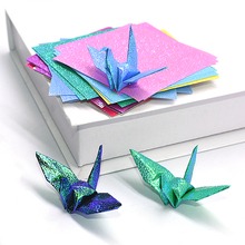 Folding Paper Scrapbooking Handmade Craft Mix-Color DIY Kindergarten 50pcs Supplie Square
